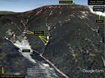 Imágenes satelitales de los ''deslizamientos de tierra'' provocados por la última prueba nuclear en Corea del Norte