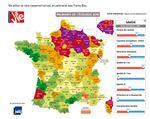 Le palmarès 2016 de l'écologie dans les départements par le journal La Vie
