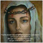 Message de la Vierge Marie à sa fille chérie Luz de Maria Le 28 mars 2017