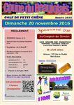 Rappel :Coupe du Beaujolais le dimanche 20 novembre