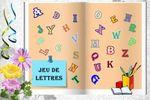 Le petit jeu de lettres (117) chez Lady Marianne