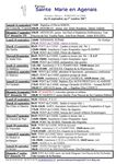 ATTENTION  - Rectif Annonces semaines 38-39