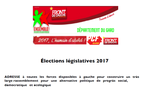 ELECTIONS LEGISLATIVES FRANCAISES 2017