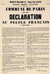 Il y a 146 ans «Commun, Commune»*: «la semaine sanglante»