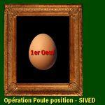 """Local VAR : opération """"poule position""""  - 1er OEUF - distribution de poulailler - réduction des déchets"""