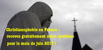 Actes christianophobes en France : juin 2017