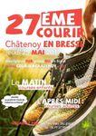 27ème Courir à Châtenoy en Bresse (25/05/17)