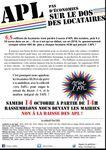APL Mobilisation samedi 14 octobre