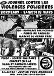 [Bordeaux - 18 mars 2017] Journée contre les violences policières