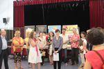 Jean-Philippe Chabrillangeas reçoit son Prix des mains de Michèle Gazier