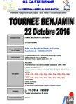 poussins et benjamins à Castets le 22 octobre