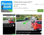 Google Play : Application code de la route 2017