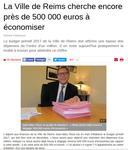 Chiffres discordants sur les économies envisagées à la Mairie de Reims