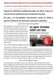 Elections CAP et CT au Grand Reims, 11 mai 2017