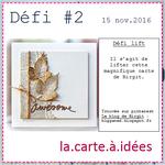Défi #2 - La.carte.à.idées