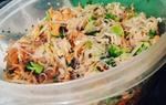 Salade de légumes sauce asiatique