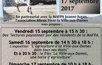 Les Journées du Patrimoine sur l'agriculture à la Ville aux Dames.... les 15, 16 et 17 septembre !