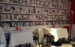 déco : papier peint bibliothèque #Koziel