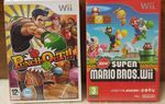 (Arrivage) 5 jeux Wii - Punch Out ! - New Super Mario Bros - Zack & Wiki...