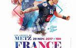UN MATCH DE L'EQUIPE DE FRANCE FEMININE A METZ EN NOVEMBRE 2017