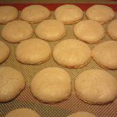 macarons végétaliens (sans oeufs) ... jus de haricots rouges - Mes Meilleures Recettes Faciles