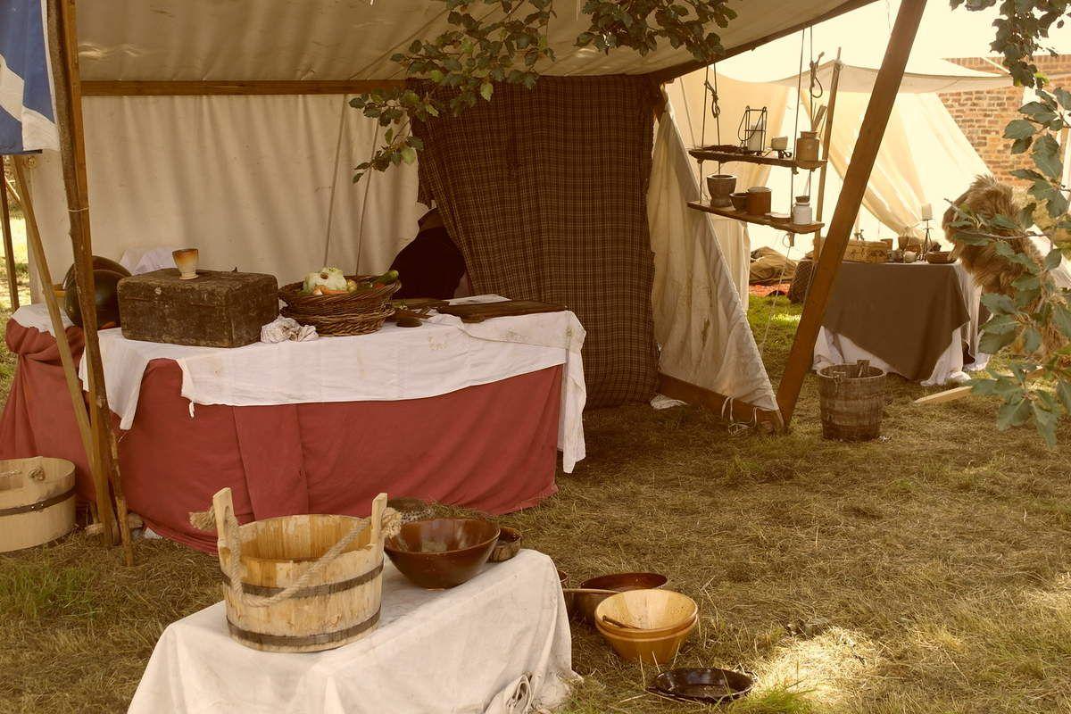 Scottish Days à la ferme de Hougoumont.