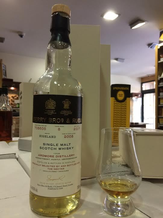 Ardmore 8Y Berry Bros & The Nectar