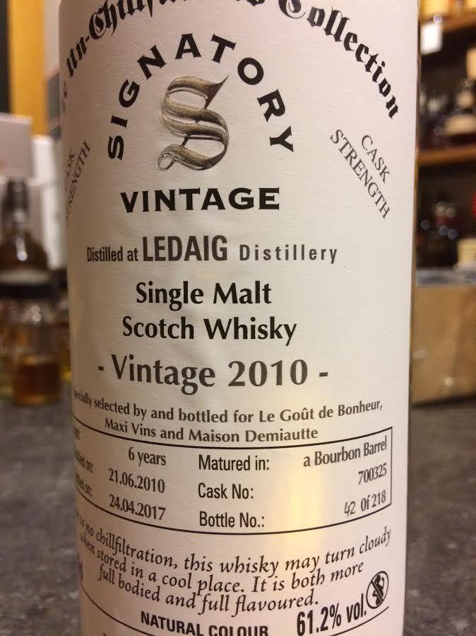 Ledaig 2010 / 2017 Signatory Vintage