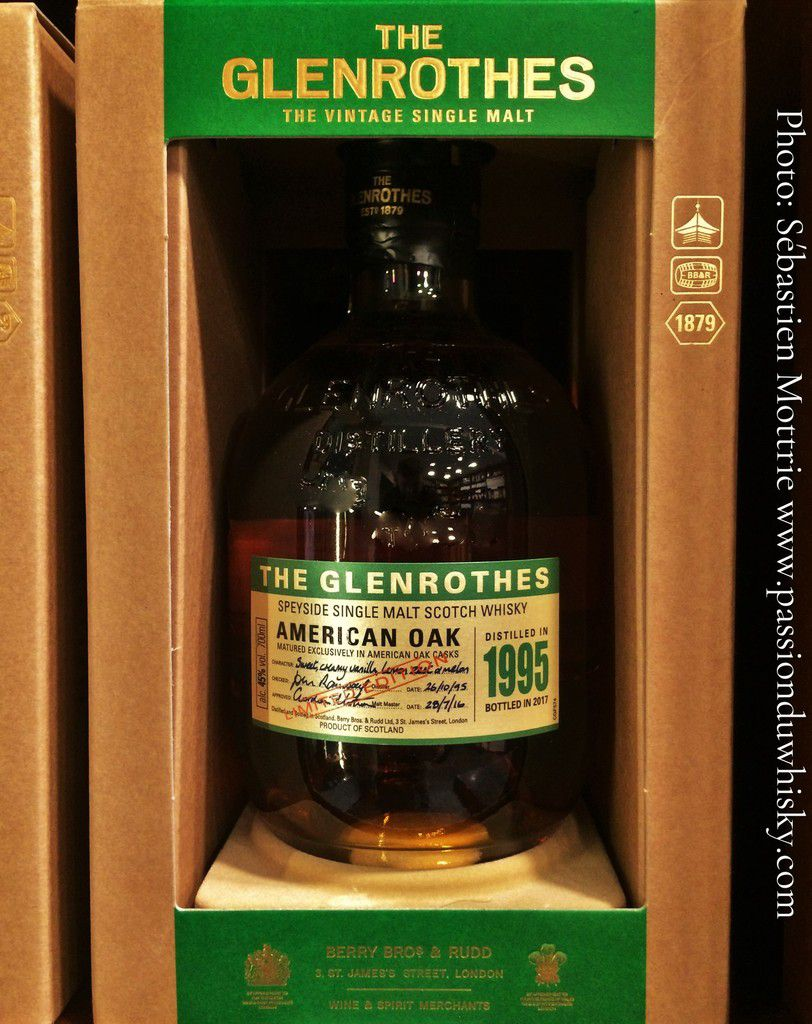 THE GLENROTHES American Oak 1995