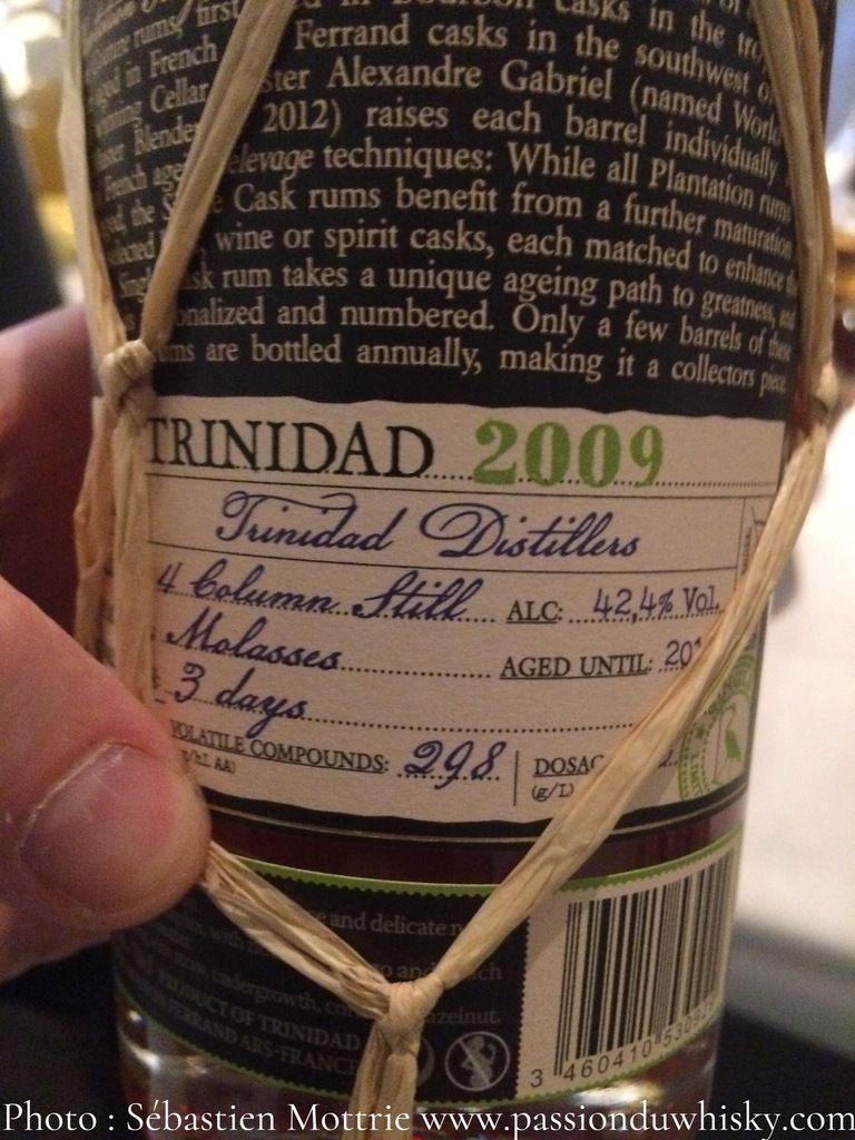 Plantation Trinidad 2009 White Pineau des Charentes Cask Finish
