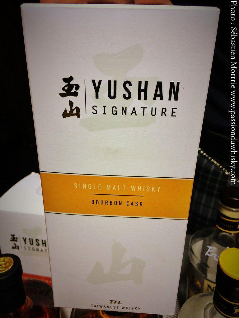 Yushan 'Signature' Bourbon Cask