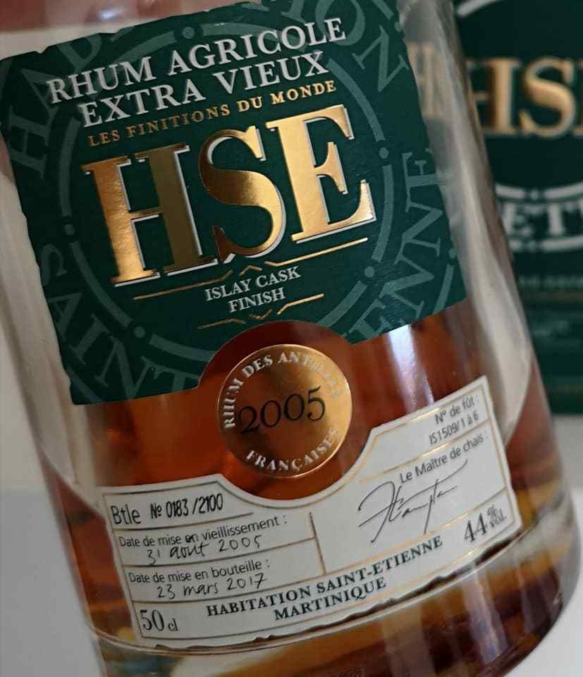 HSE Single Malt Finish Islay 2005