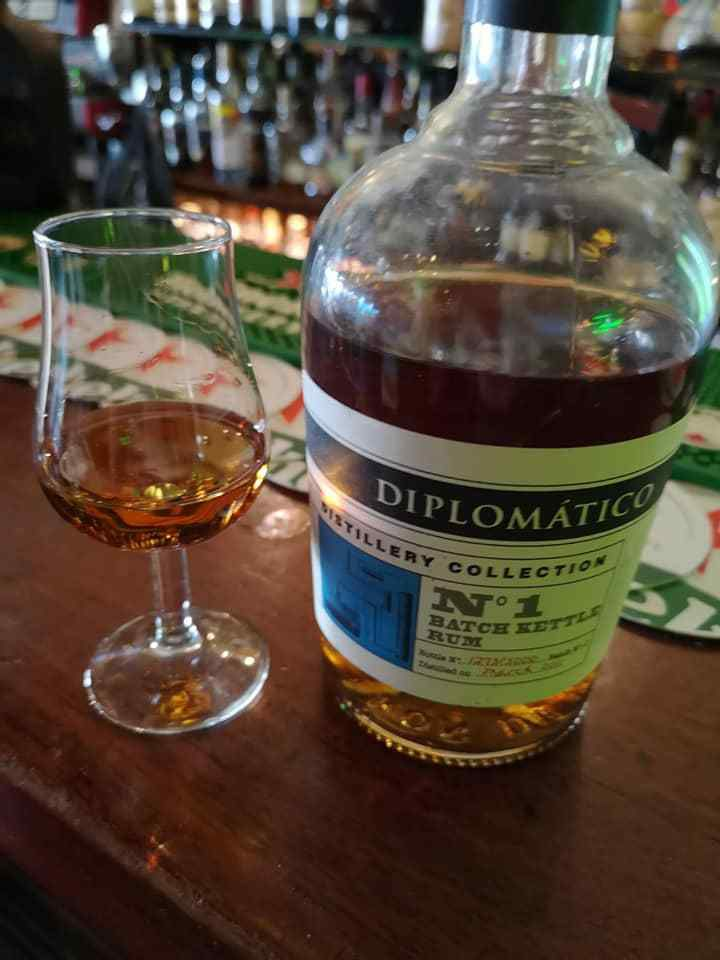 Diplomatico Distillery Collection n° 1 - Batch Kettle Rum