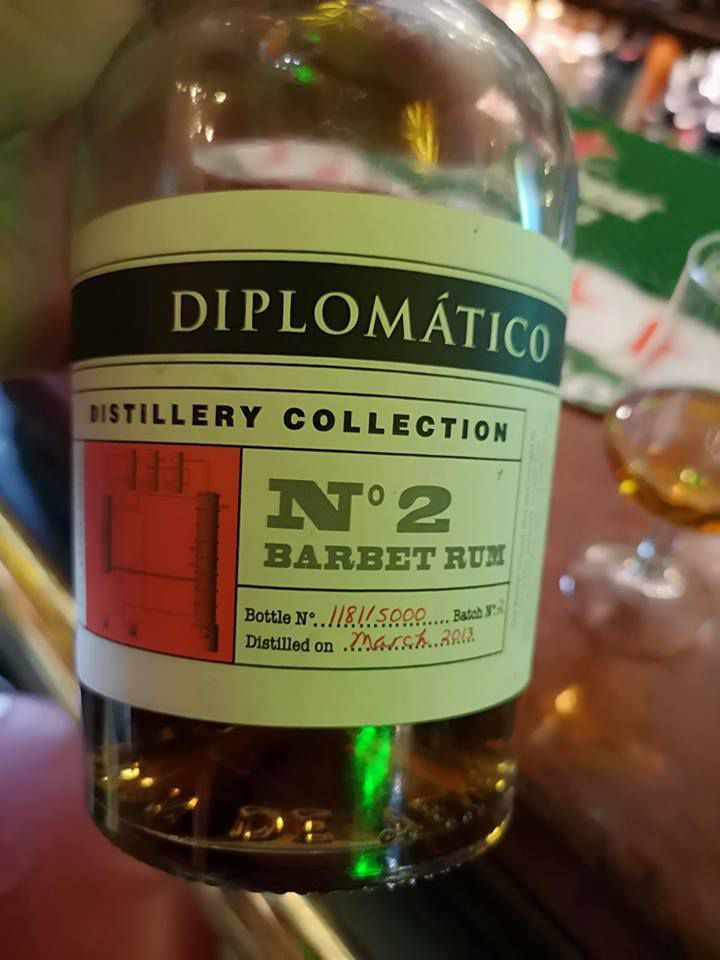 Diplomatico Distillery Collection n° 2 - Batch Barbet Rum