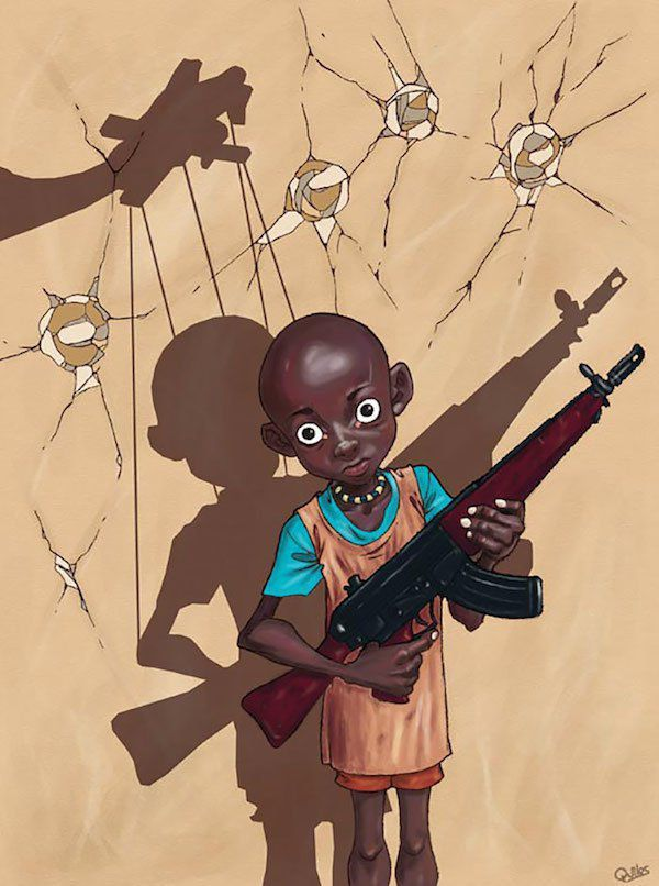 Luis Quiles  Espagnole, dessinateur sans aucun tabou pour dénoncer les réalités choquantes de notre monde moderne.