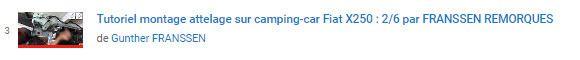 Video 2/6 tutorial pour Montage Attelage Camping car sur un Fiat X250 par FRANSSEN REMORQUES