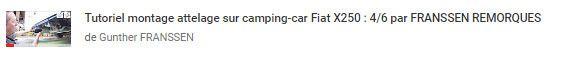 Video 4/6 tutorial pour Montage Attelage Camping car sur un Fiat X250 par FRANSSEN REMORQUES