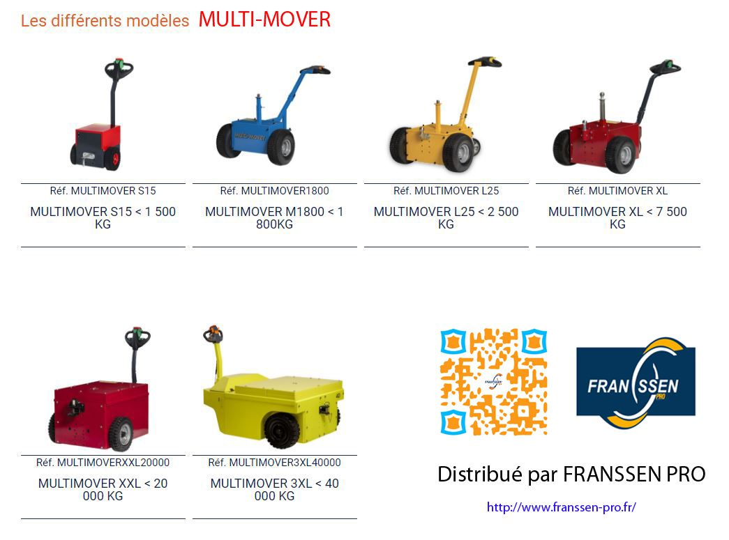 MULTI-MOVER importé par FRANSSEN REMORQUES