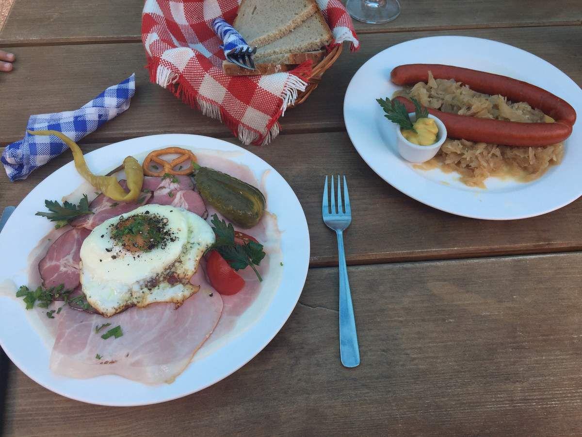 Le repas type de la région