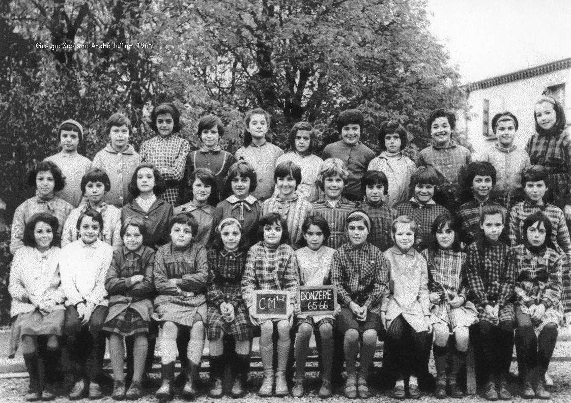 Groupe scolaire André Jullien, 1965.