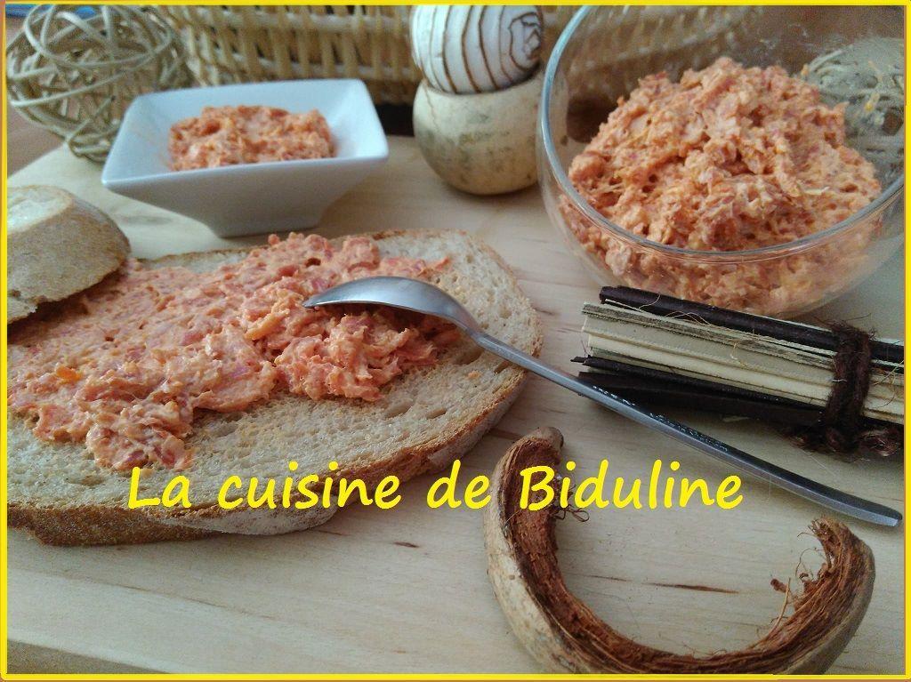 Tartinade au Chorizo par La Cuisine de Biduline