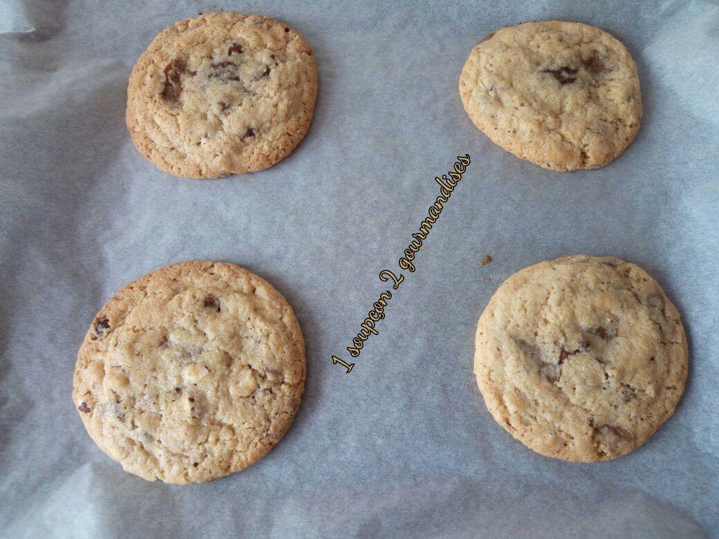 Cookies Géants au Cœur Chocolaté de Michel et Augustin