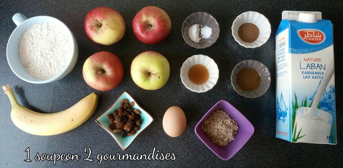 Muffins Petit-Déjeuner aux Fruits et Flocons d'Avoine