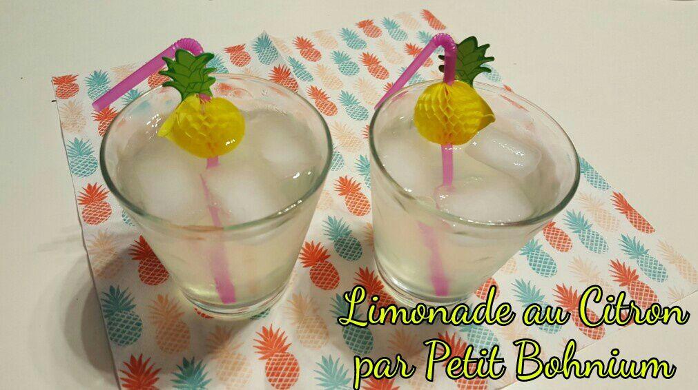 Limonade au Citron par Petit Bohnium