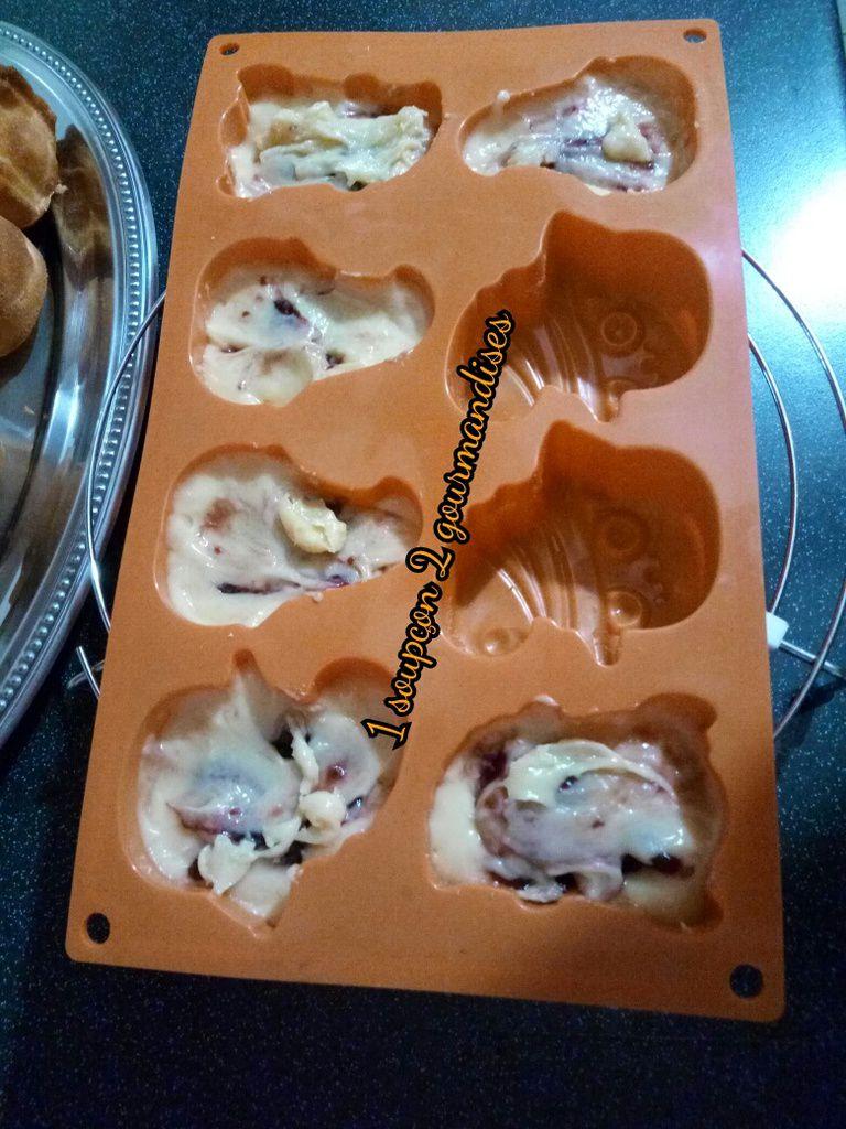 Cakes d'Halloween à la Confiture