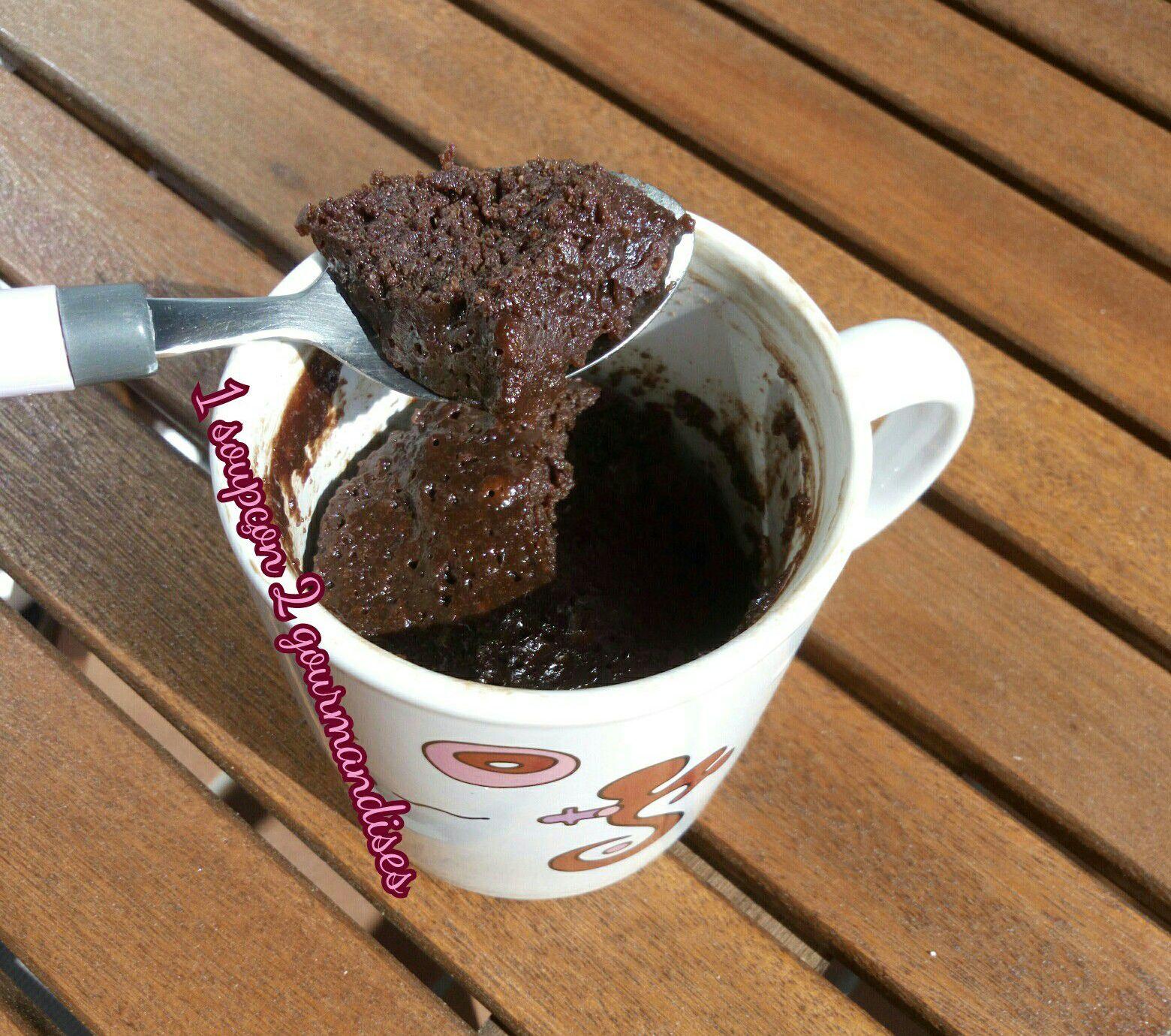 Mug Cake Chocolat Amandes