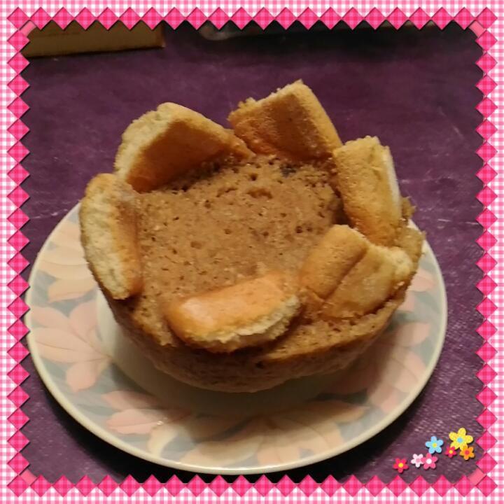 Bowlcake façon charlotte à la vanille