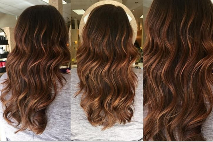 Balayage californien sur brune perfect balayage caramel with balayage californien sur brune - Balayage caramel sur base brune ...