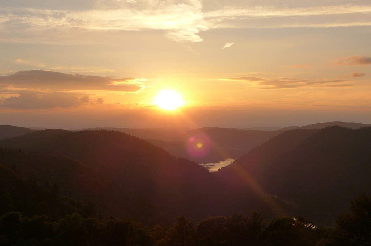 Un soir de juillet sur les chaumes des Hautes Vosges