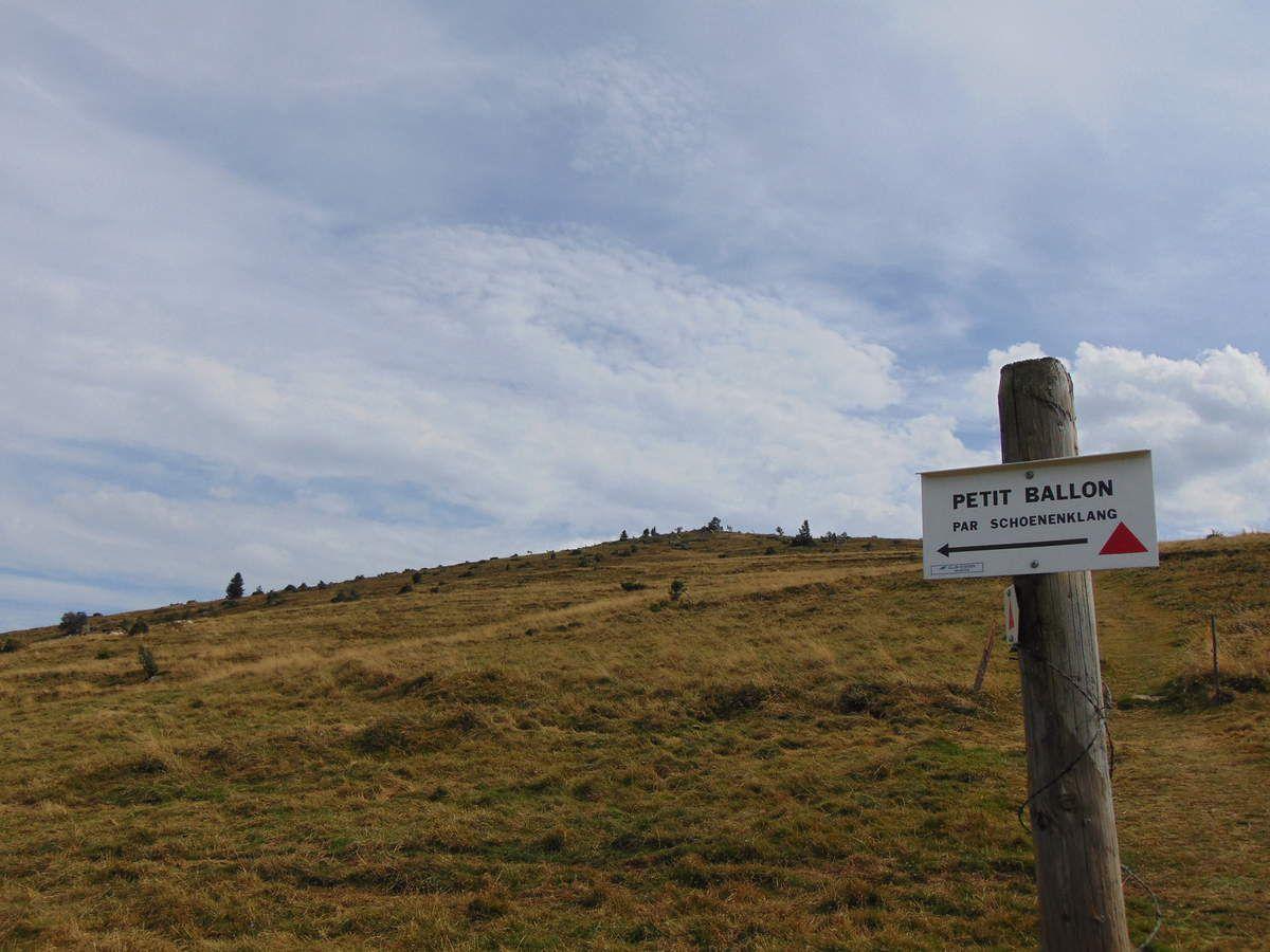 Cap vers l'est, direction le Schoenenklang.